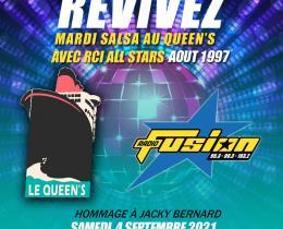 Revivez les Mardi Salsa au Queen's en  Aout 1997 sur Fusion